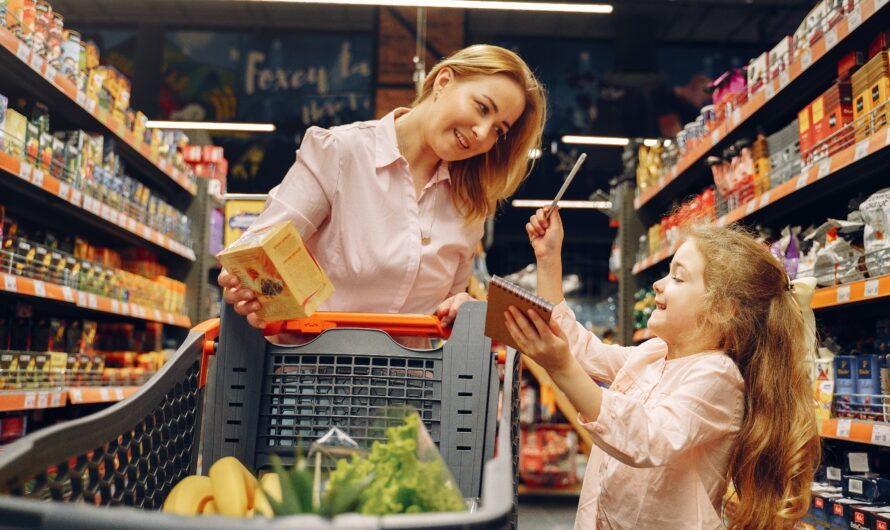 PARENTING ADVICE: How to Go Grocery Shopping With Kids