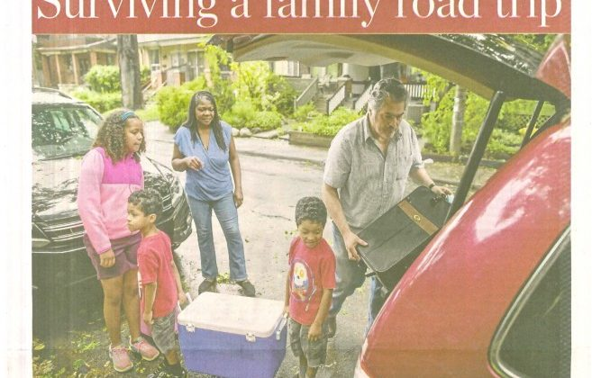 IN THE NEWS: How to Survive a Family Road Trip