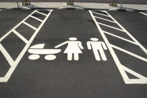 family parking spot