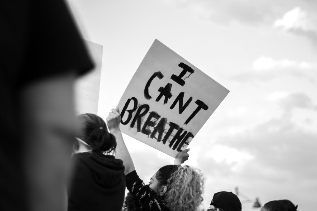 i can't breathe protest